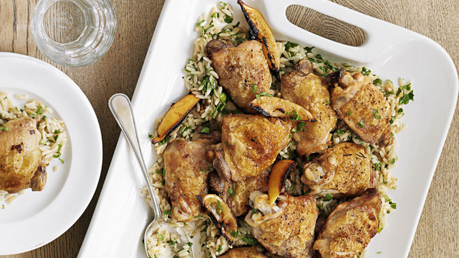 Lemon And Herb Chicken With Risoni Recipe Better Homes