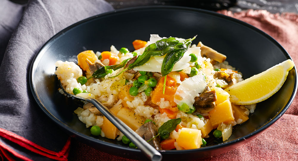 Vegetable risotto better homes and gardens for Better homes and gardens australia episodes