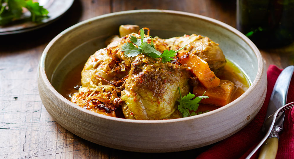 Massaman Chicken Curry With Sweet Potato Recipe Better Homes And Gardens