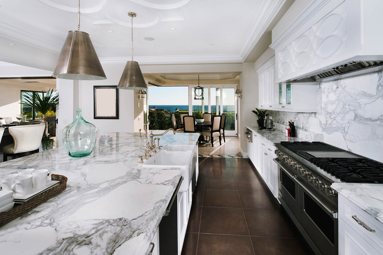 The Marble Galley Kitchen