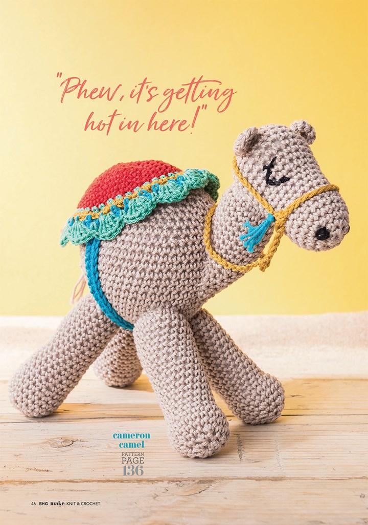 Camel amigurumi crochet pattern : PlanetJune Shop, cute and ... | 1025x720