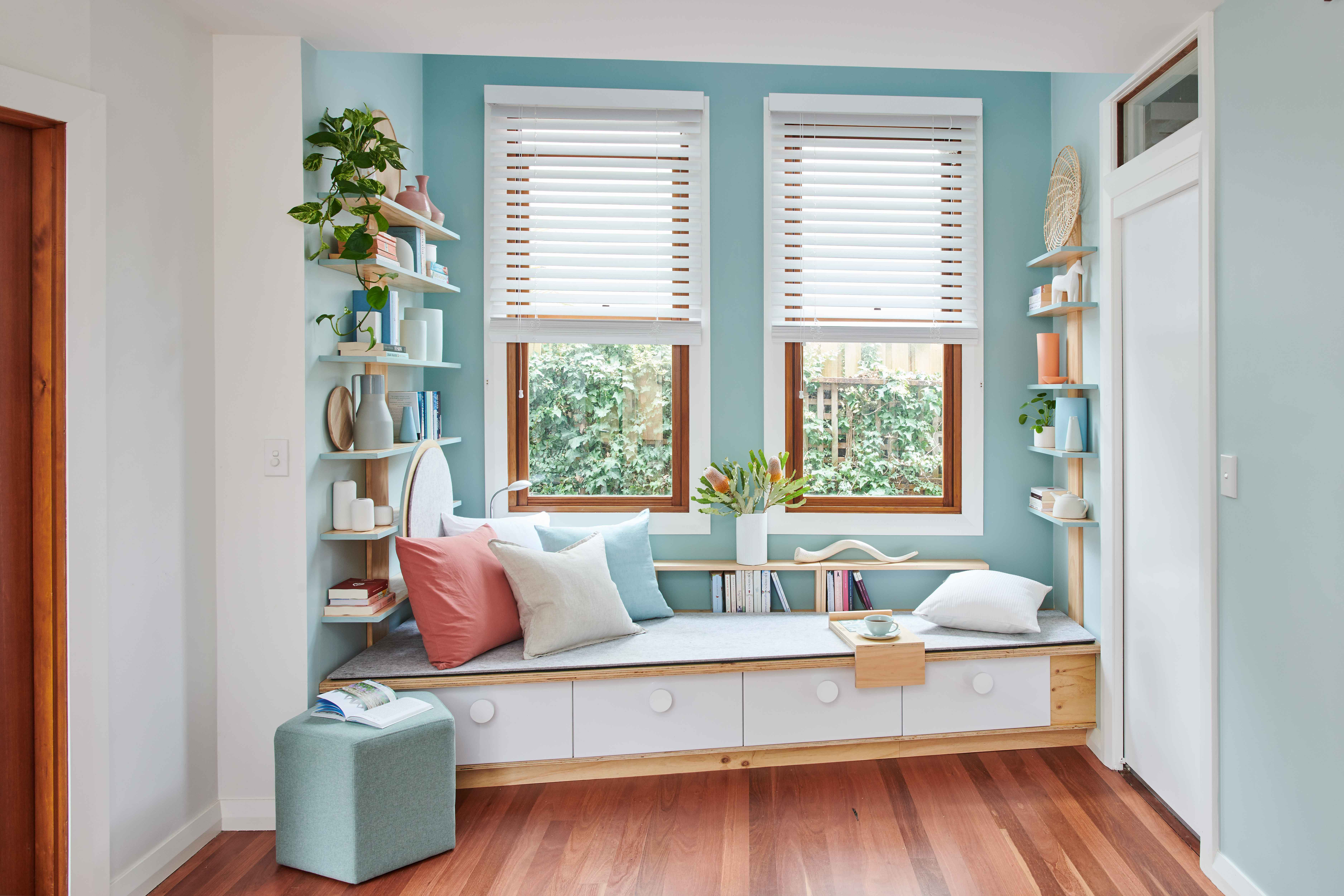 How To Build A Book Nook Better Homes And Gardens