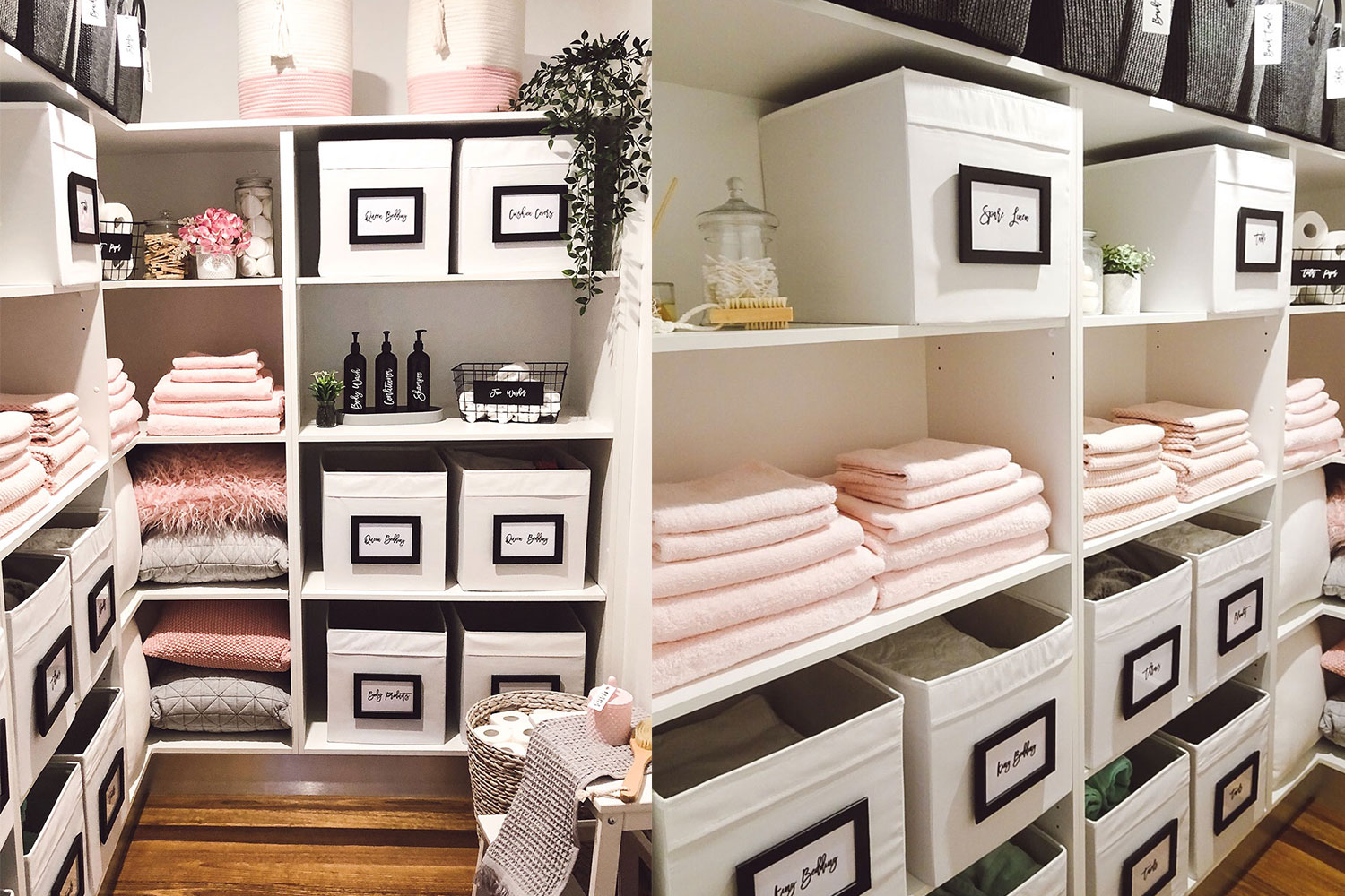 This Sydney mum's linen cupboard is picture perfect   Better Homes ...