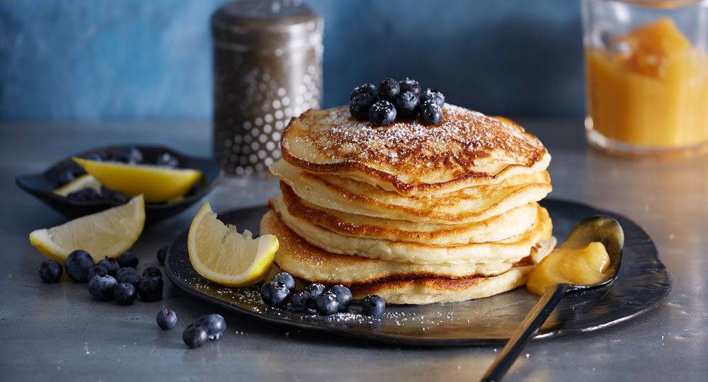 Lemon ricotta pancakes better homes and gardens for Better homes and gardens australia episodes