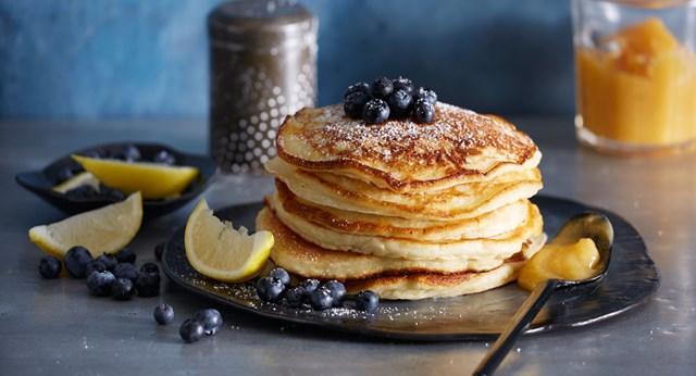 Lemon Ricotta Pancakes Better Homes And Gardens