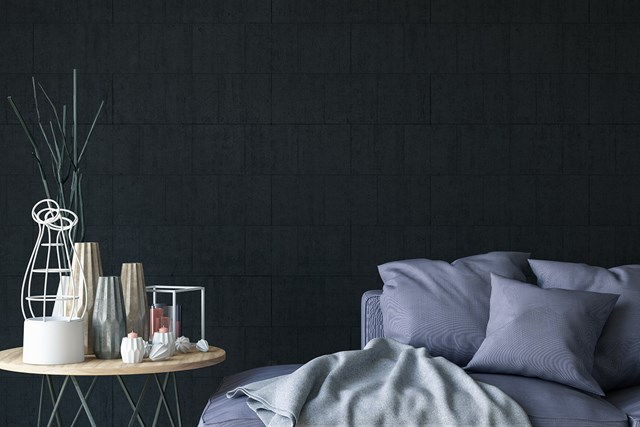 Black paint can be used for home interiors and it looks amazing