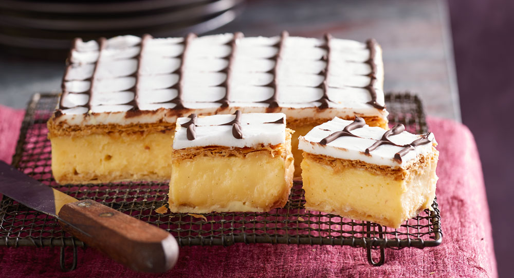 Perfectly traditional vanilla slice better homes and gardens for Better homes and gardens australia episodes