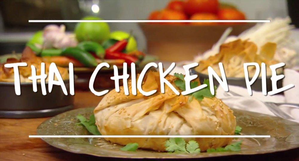 Thai Chicken Pie Diy Gardening Craft Recipes