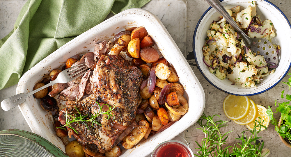 Slow-roast lamb shoulder Recipe | Better Homes and Gardens
