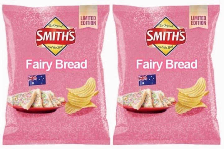 People are falling for Smith's Fairy Bread chips hoax