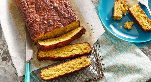 Syrupy orange sugar-free cake