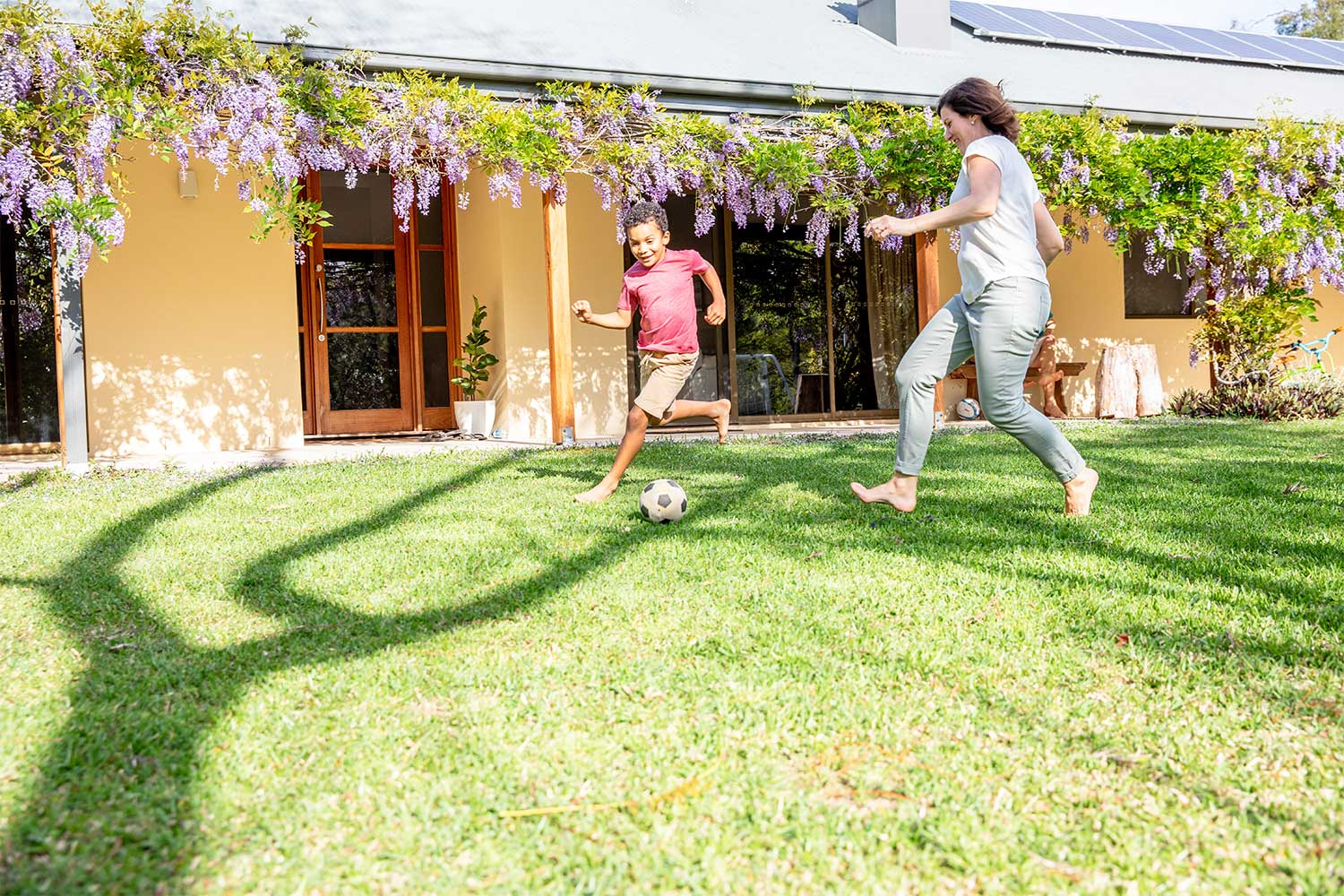 The Ultimate Guide To Creating A Backyard Footy Field Better Homes And Gardens