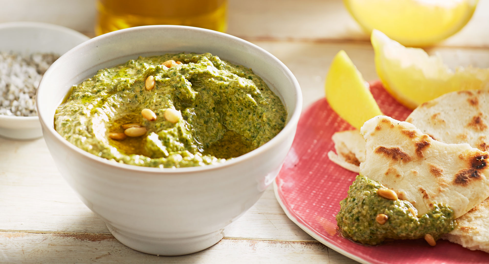 Spinach Pine Nut Dip Better Homes And Gardens