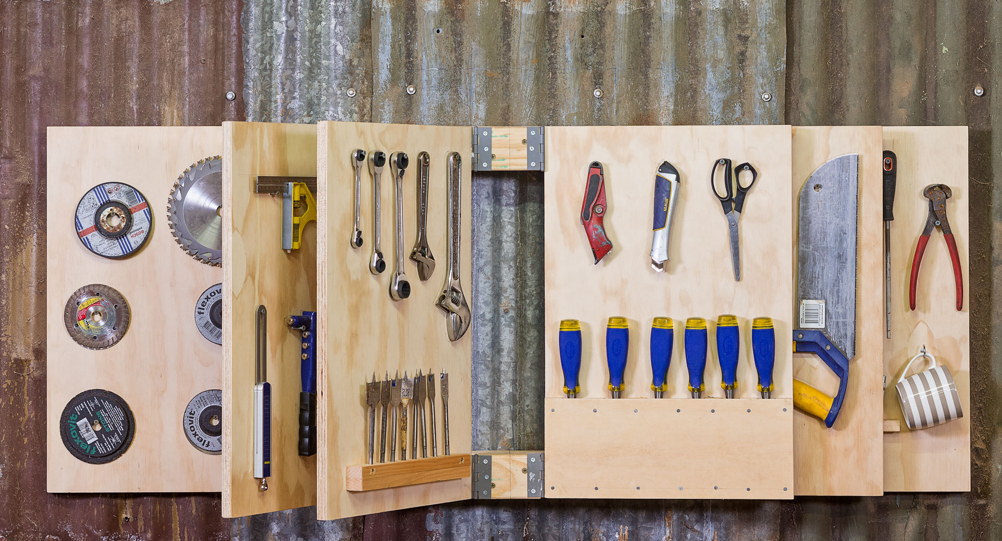 Book of tools an awesome way to store your tools better for Garden house for tools