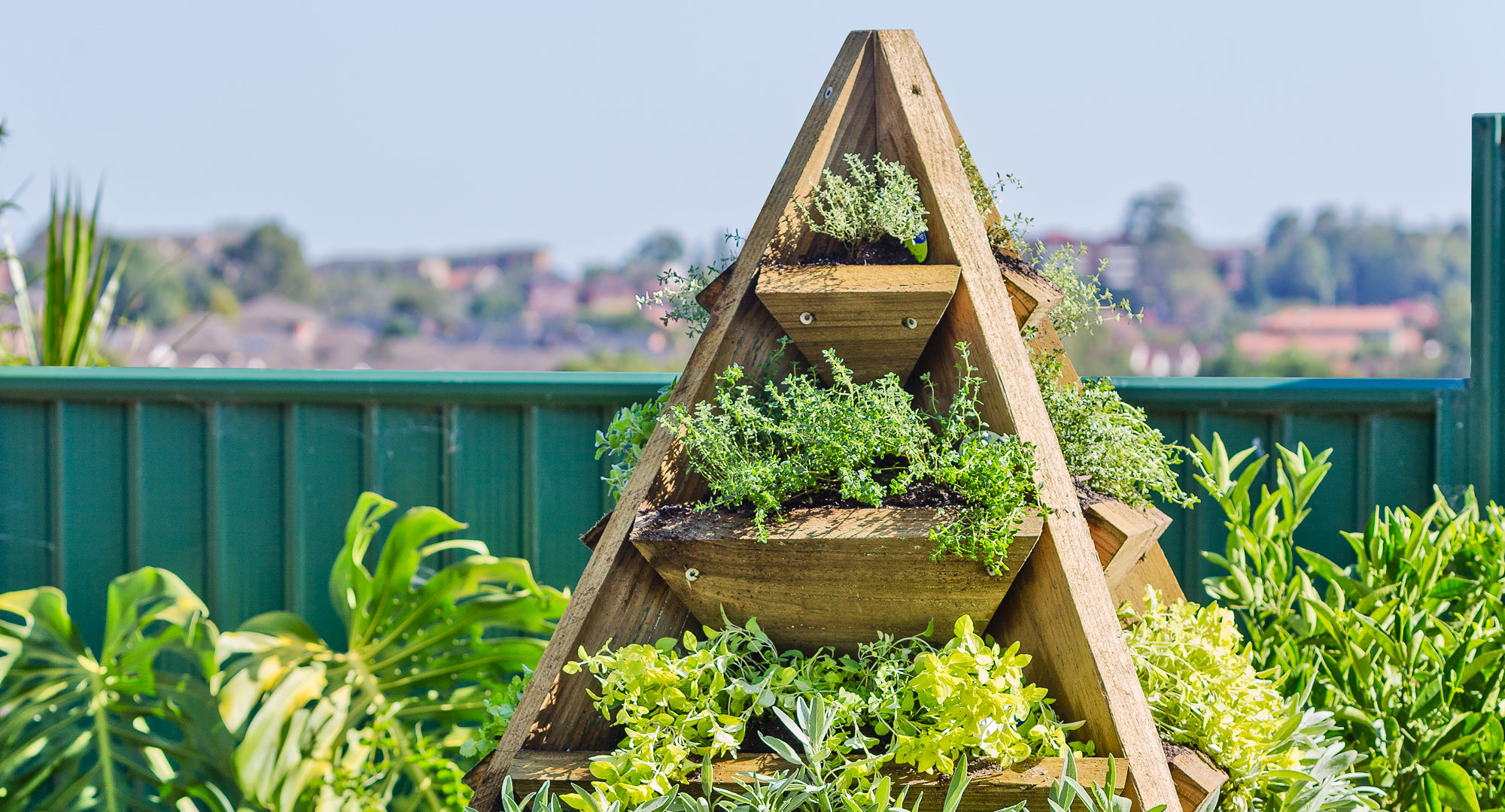 Pyramid Patch Diy Gardening Craft Recipes