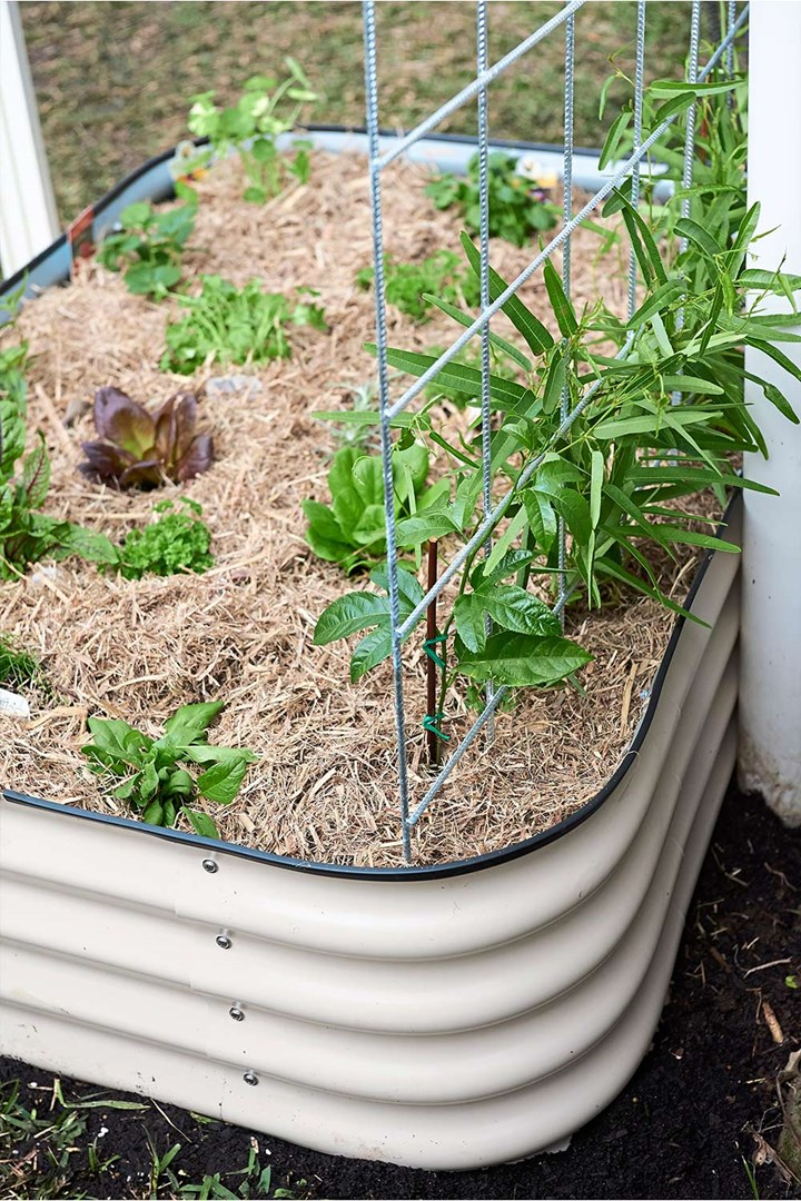 How To Install A Raised Herb Garden Bed Better Homes And Gardens
