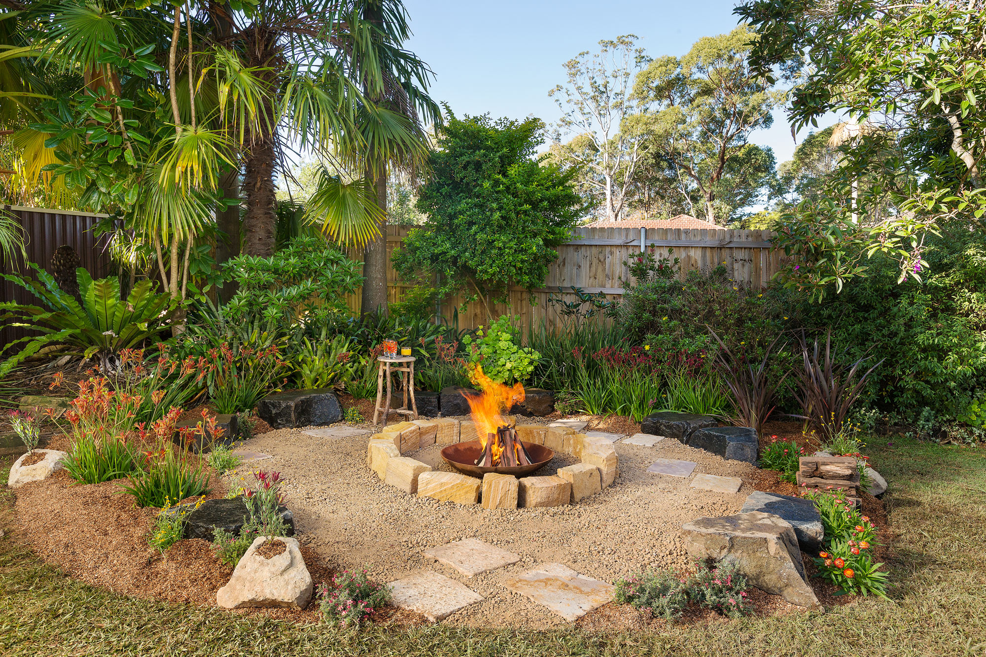 How To Make A Fire Pit Diy Gardening Craft Recipes Renovating Better Homes And Gardens