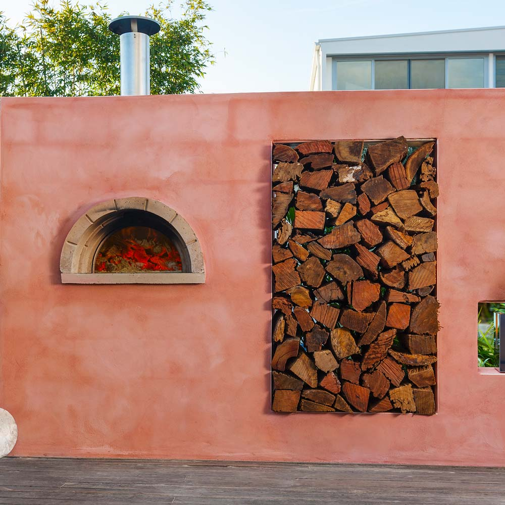 how to make a backyard pizza oven
