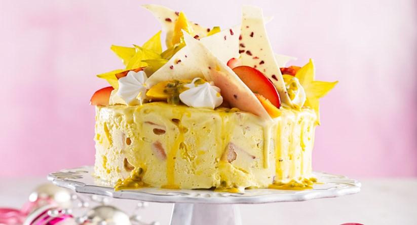 Mango Ice Cream Cake Better Homes Gardens