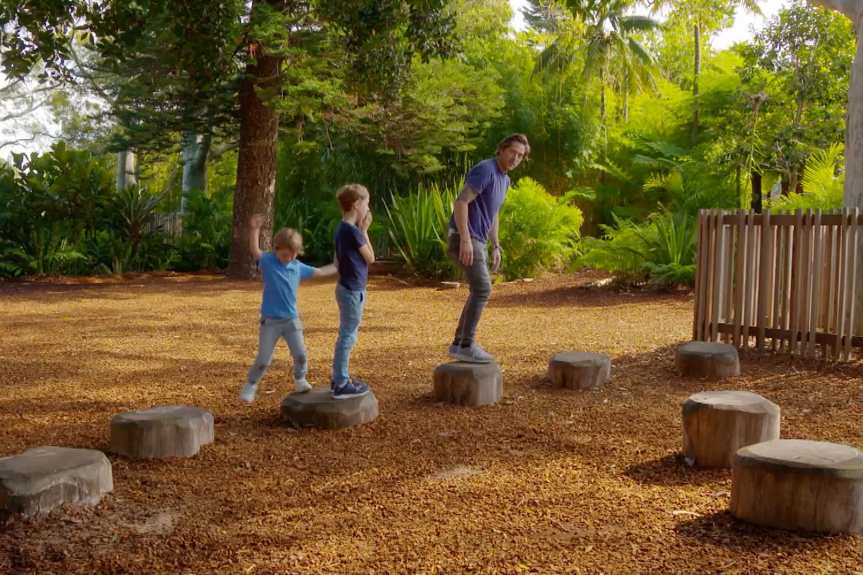 Charlie Albone visits Wild Play Garden