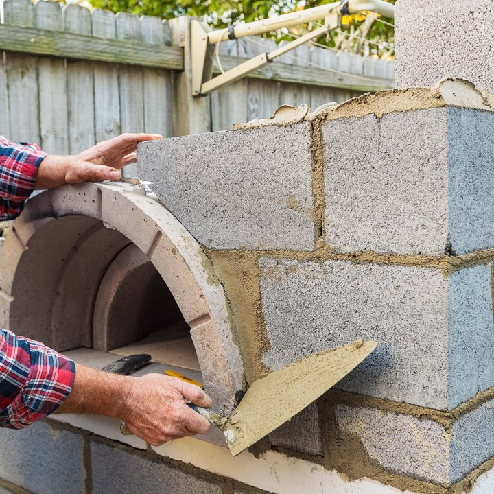 Build A Super Supreme Backyard Pizza Oven Better Homes And Gardens