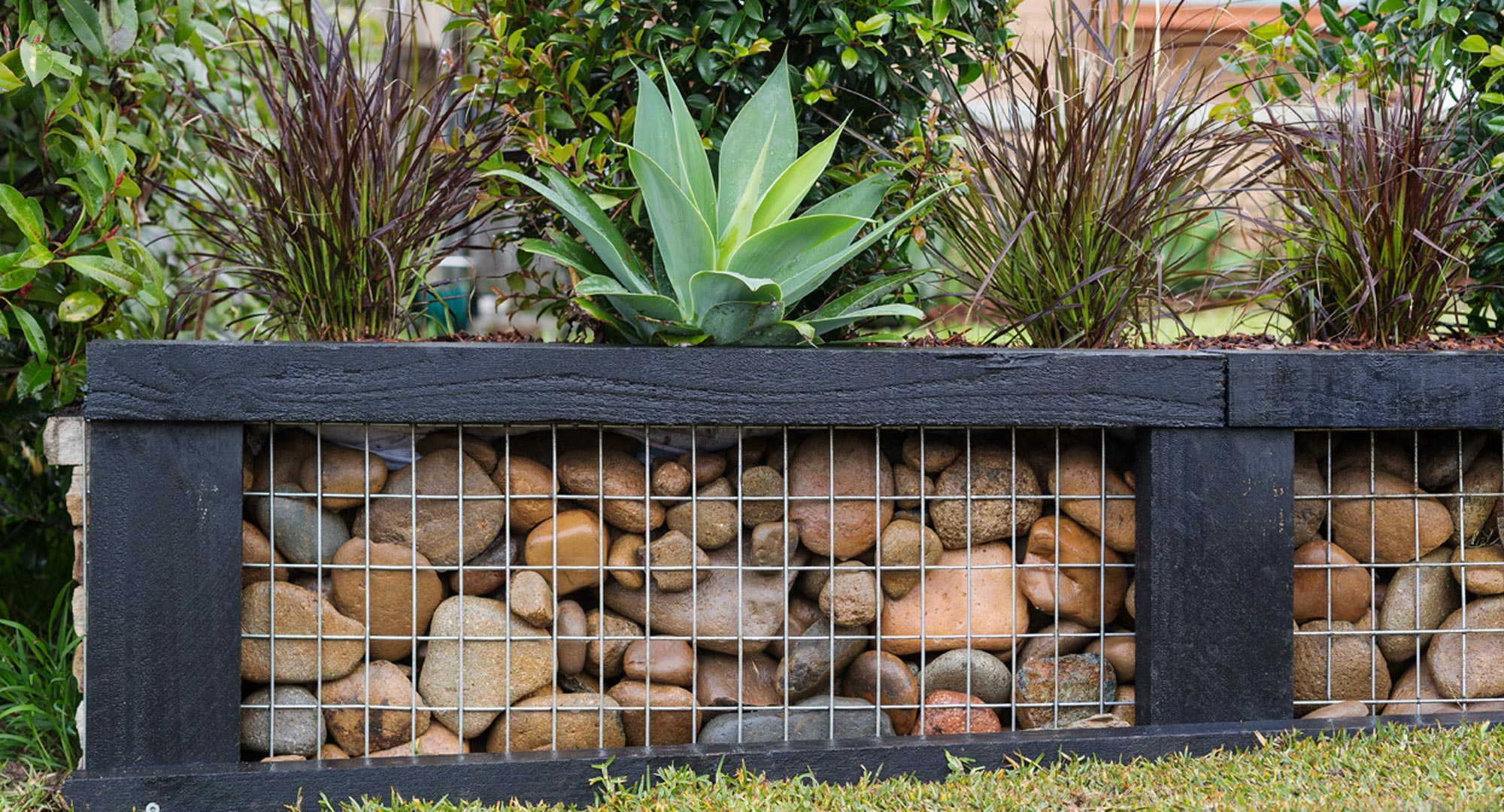 Create A Stunning Affordable Gabion Garden Wall Better