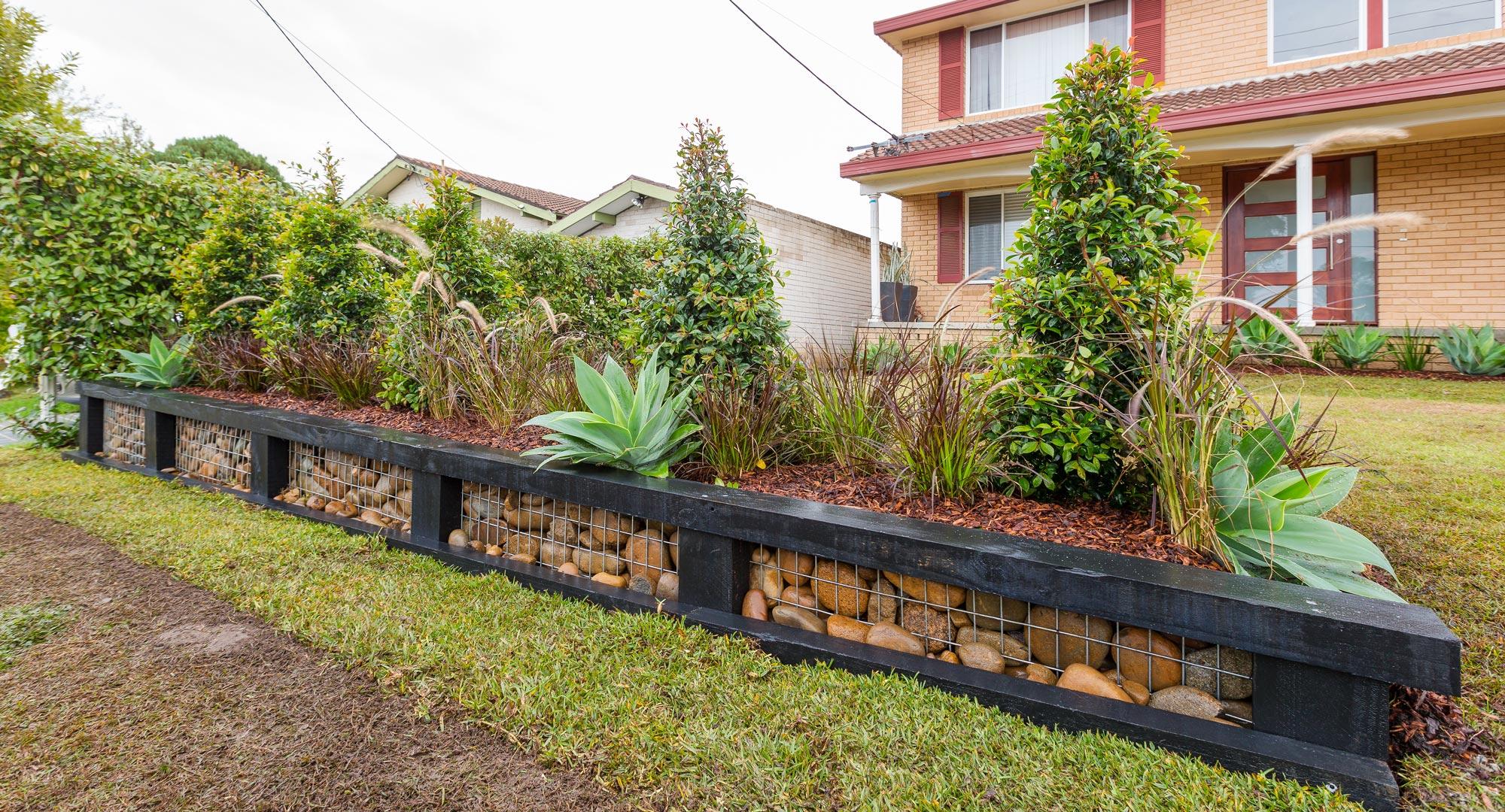 Create A Stunning Affordable Gabion Garden Wall Better