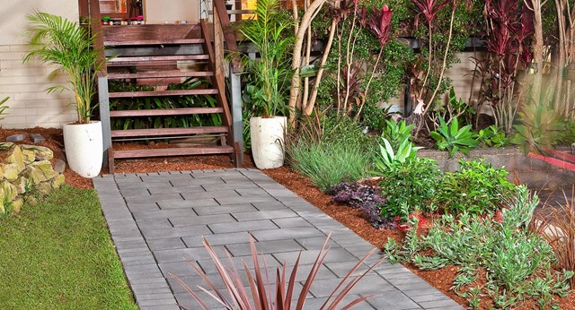 Refresh the front of your home with a stylish pathway