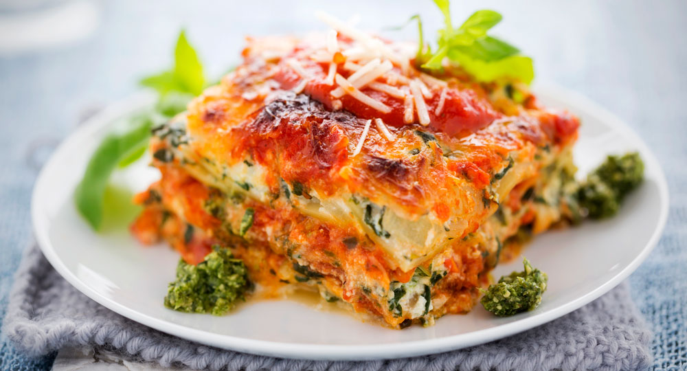 Lasagne with spinach and ricotta diy gardening craft recipes renovating better homes for Better homes and gardens lasagna