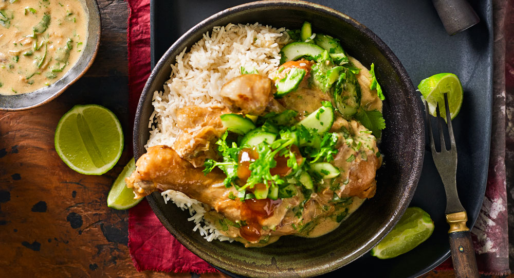 Slow cooked curried chicken drumsticks better homes and Better homes gardens tv show recipes