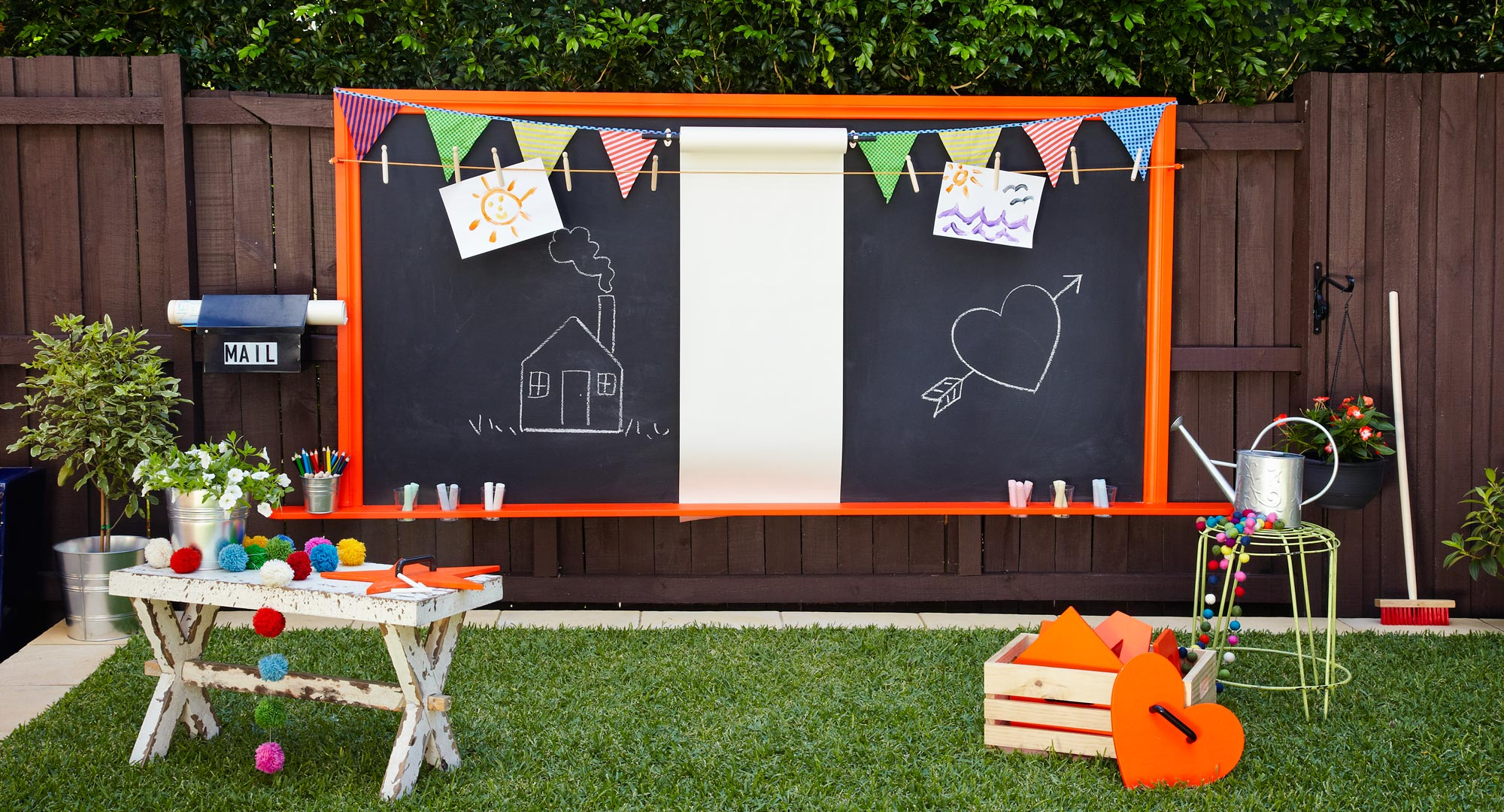 Create A Backyard Outdoor Art Space For The Kids Better
