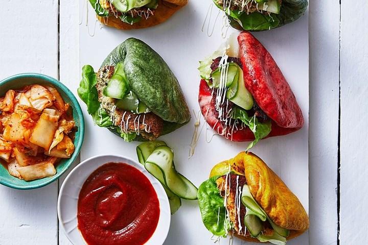 veggie bao buns