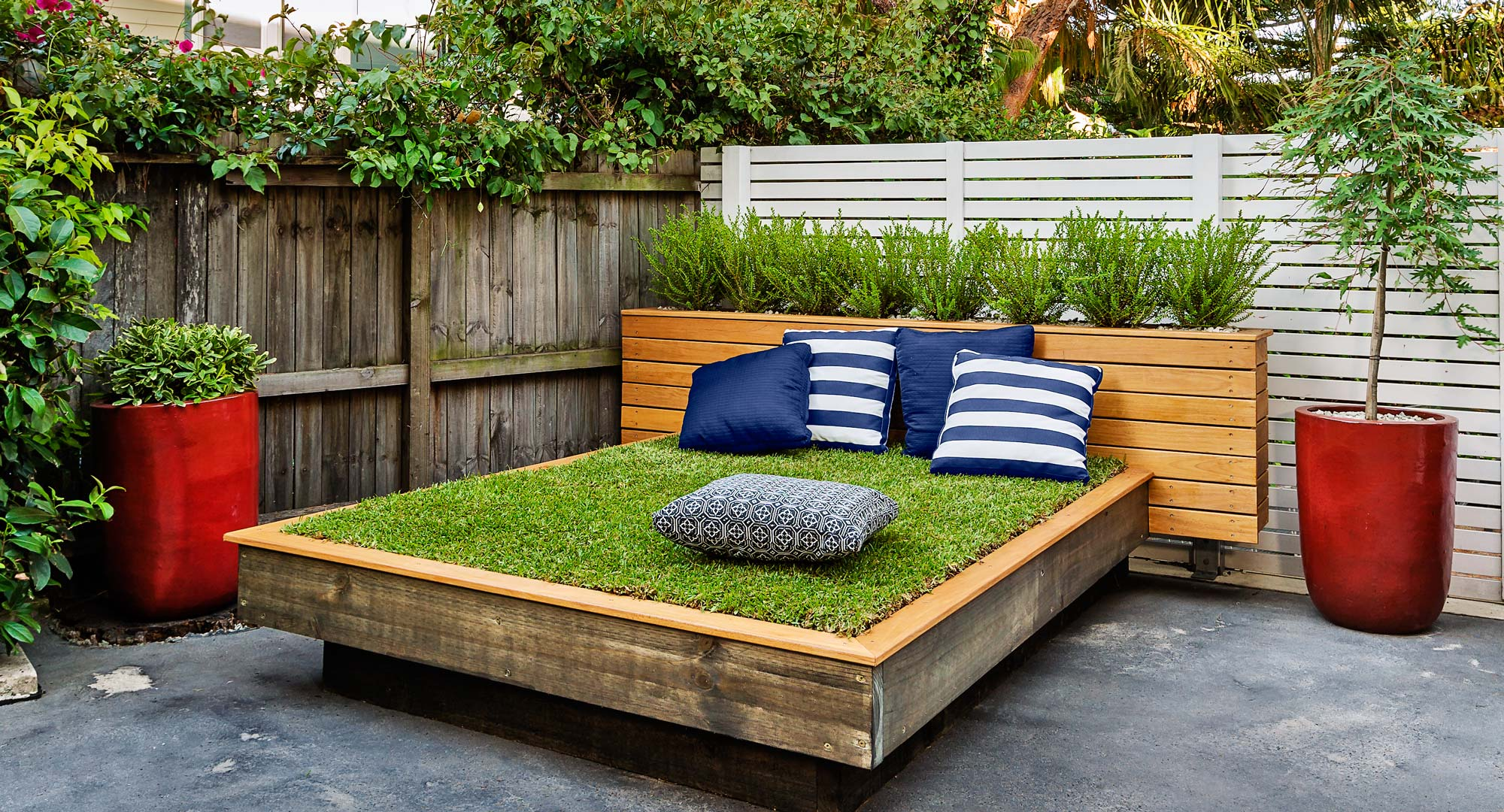 A sunny day bed fit for the gods diy gardening craft Bhg australia