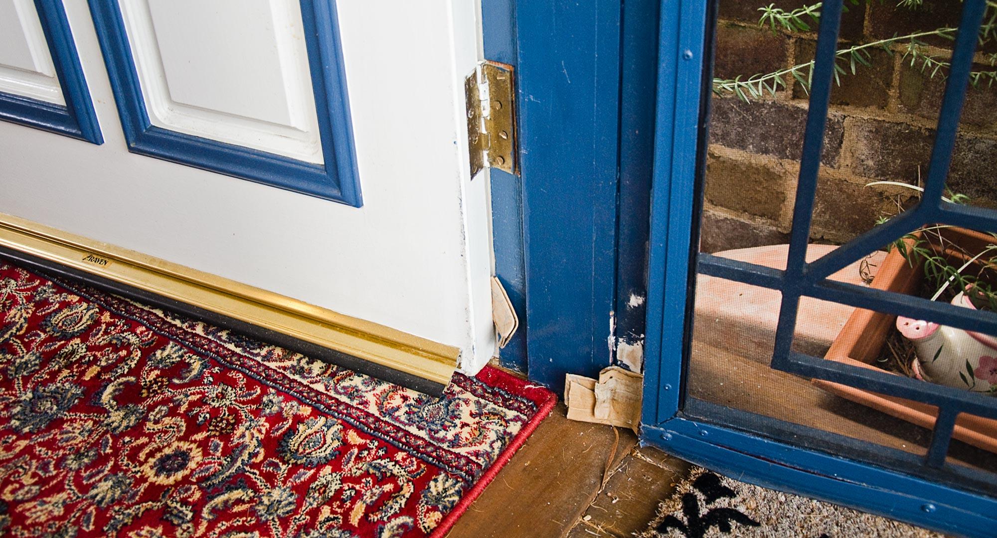 How To Fix That Pesky Sagging Door Better Homes And Gardens