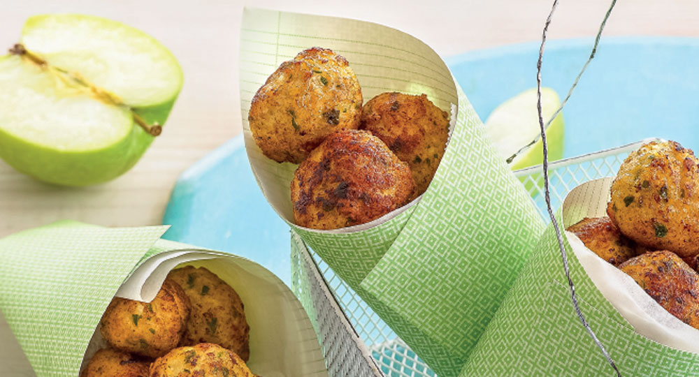 Chicken And Apple Balls Recipe Better Homes And Gardens