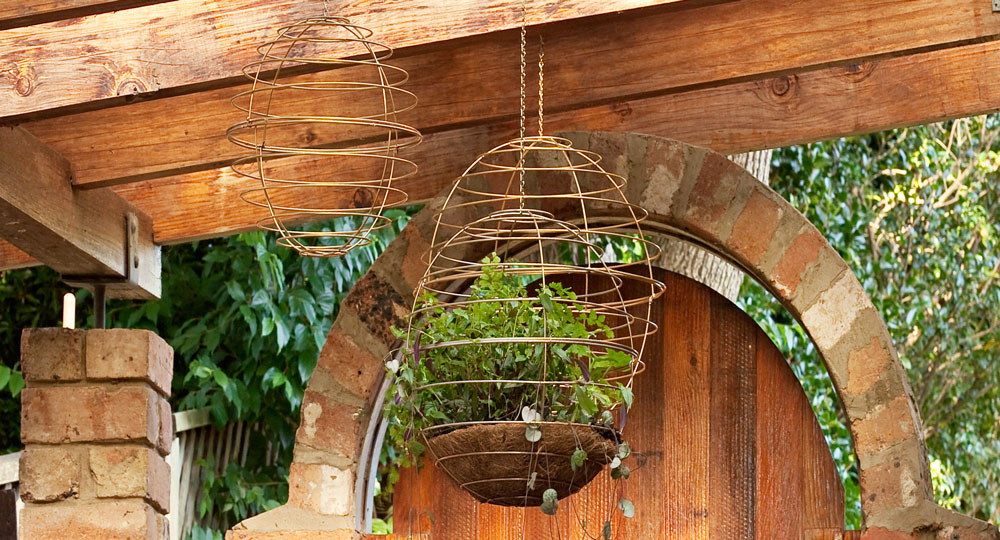 How To Make A Basket Sphere Better Homes And Gardens