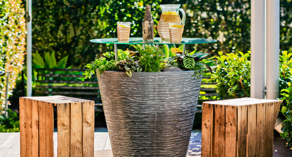 How To Make A Garden Pot Table Better Homes And Gardens