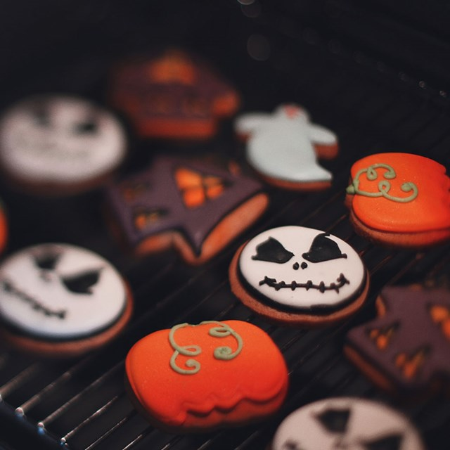 Make spooky biscuits!