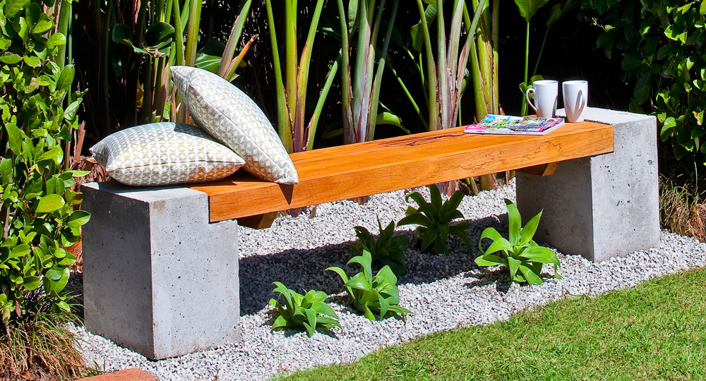 how to build a garden table and bench