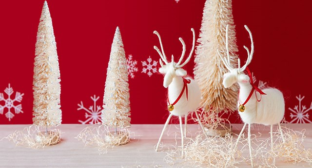 How to make Christmas reindeer decorations