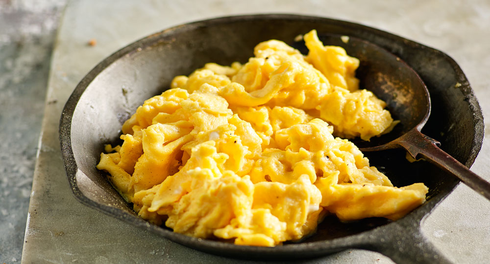 Fluffy Scrambled Eggs Better Homes And Gardens