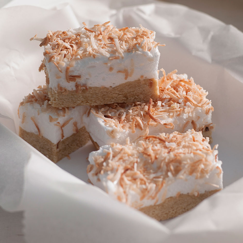 Coconut Marshmallow Slice Diy Gardening Craft Recipes