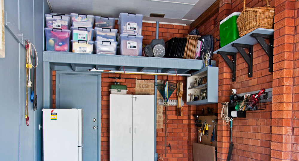 Build A Mezzanine Garage Storage Diy Gardening Craft