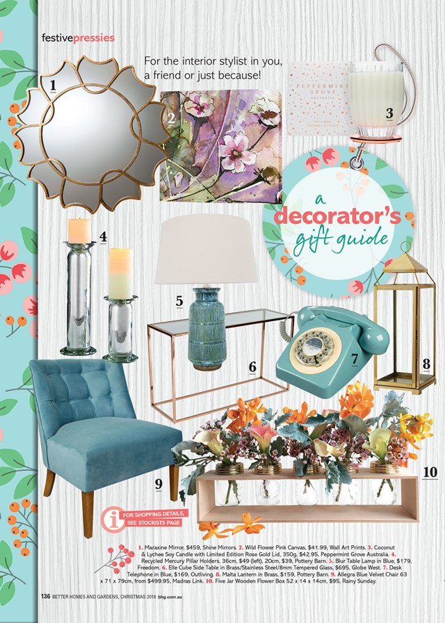 A decorator's gift guide