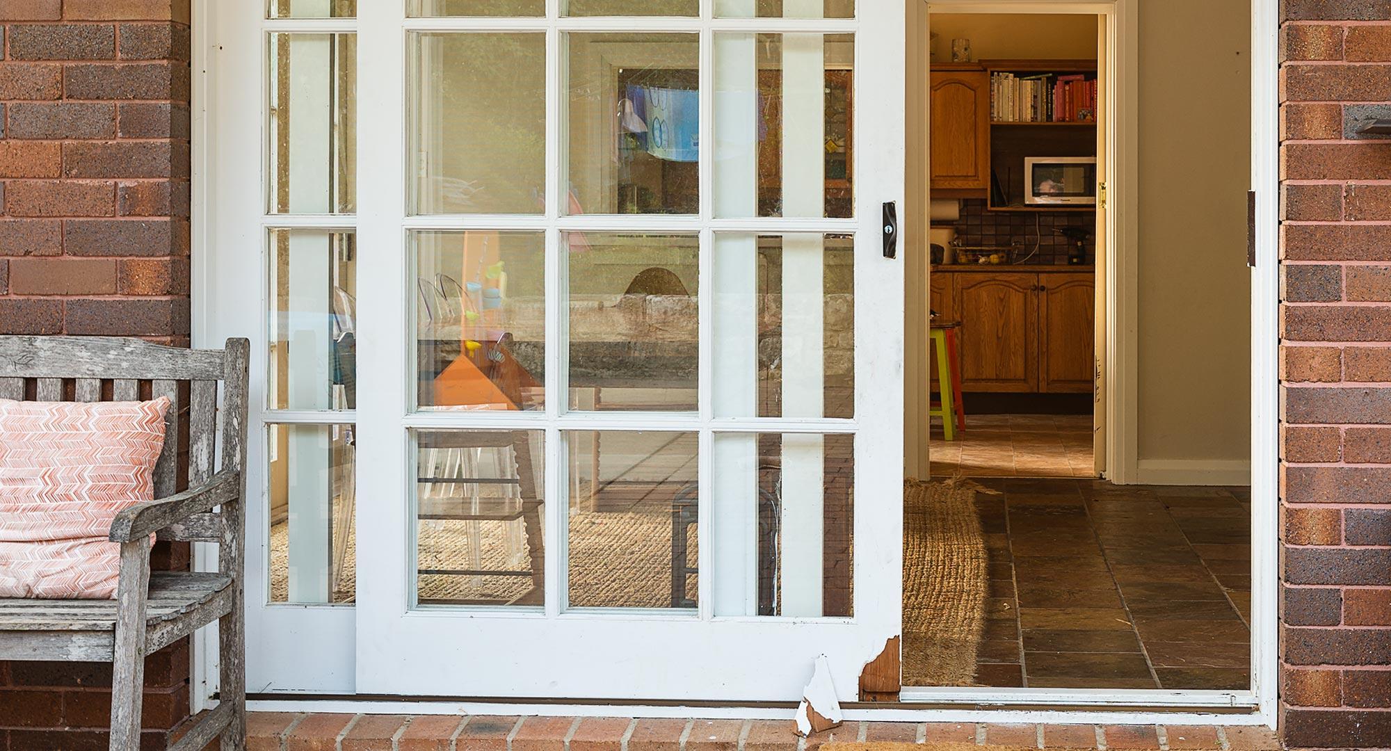 How To Fix A Split Sliding Door Better Homes And Gardens