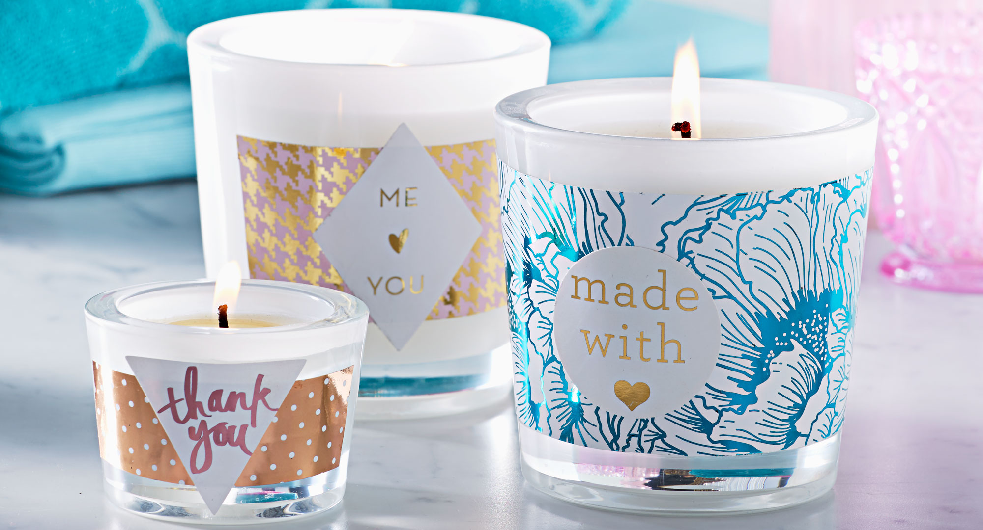 How To Craft An Easy Soy Candle Better Homes And Gardens
