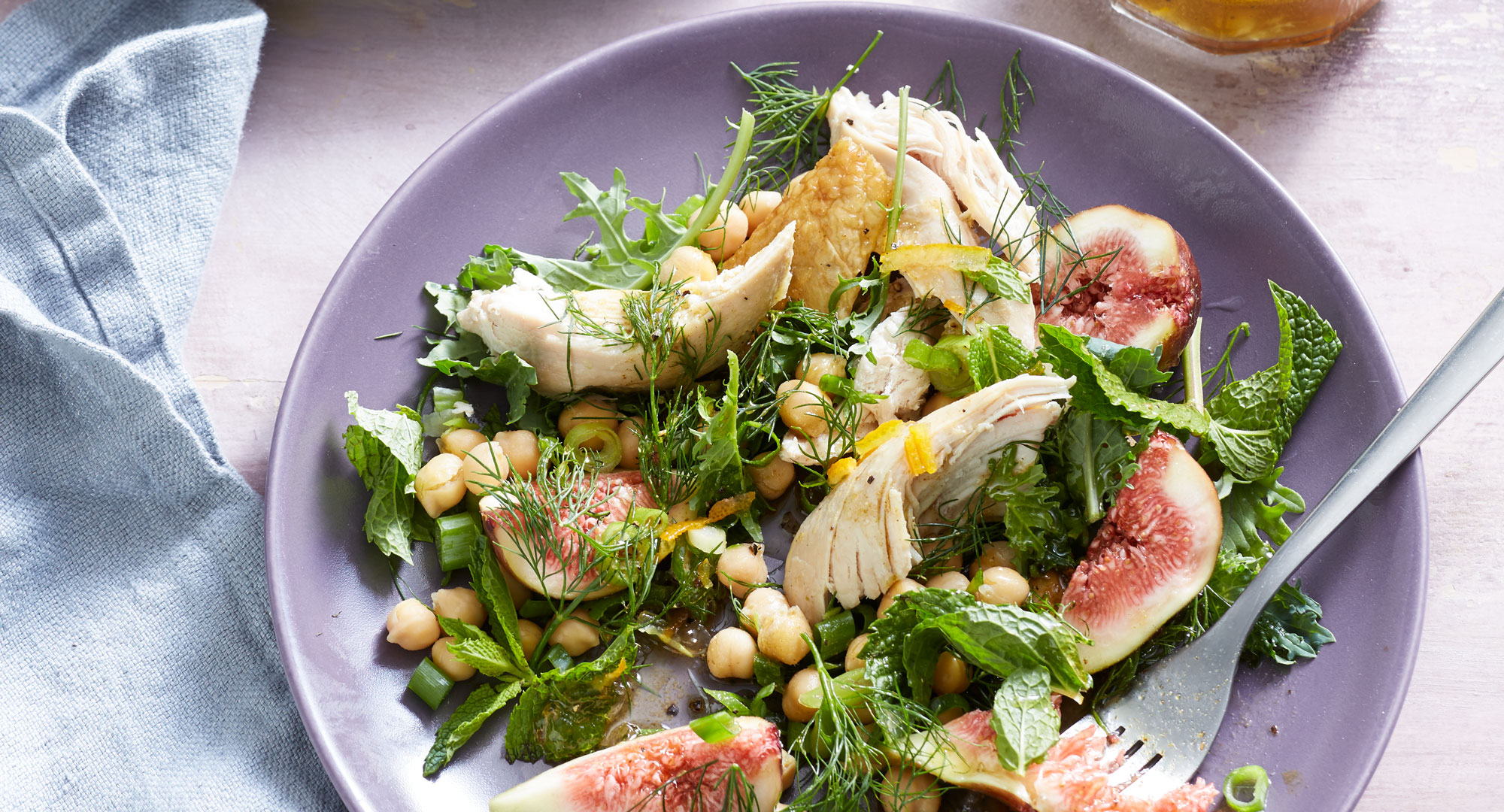 Quick And Easy Chicken And Fig Salad Recipe Better Homes