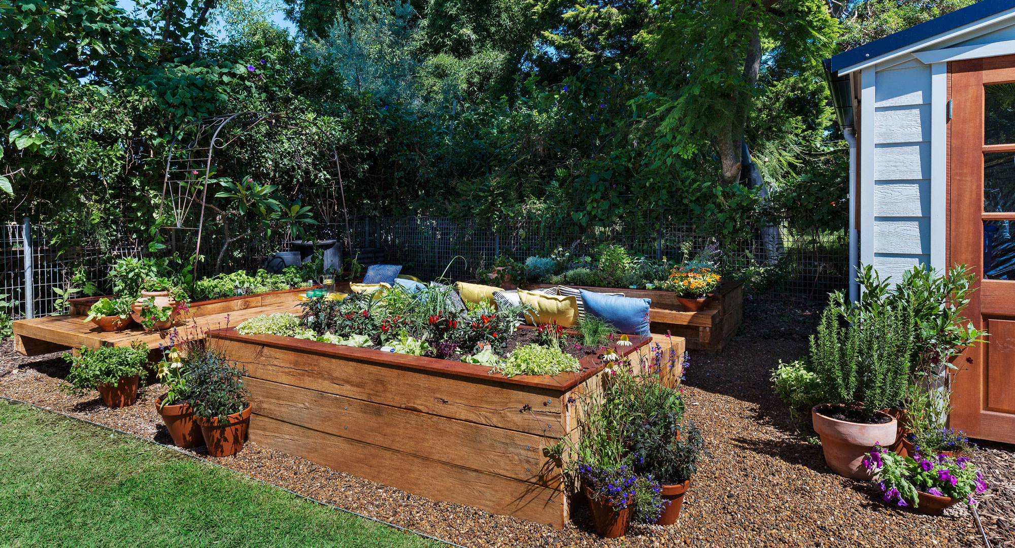 how you can build the ultimate veggie patch