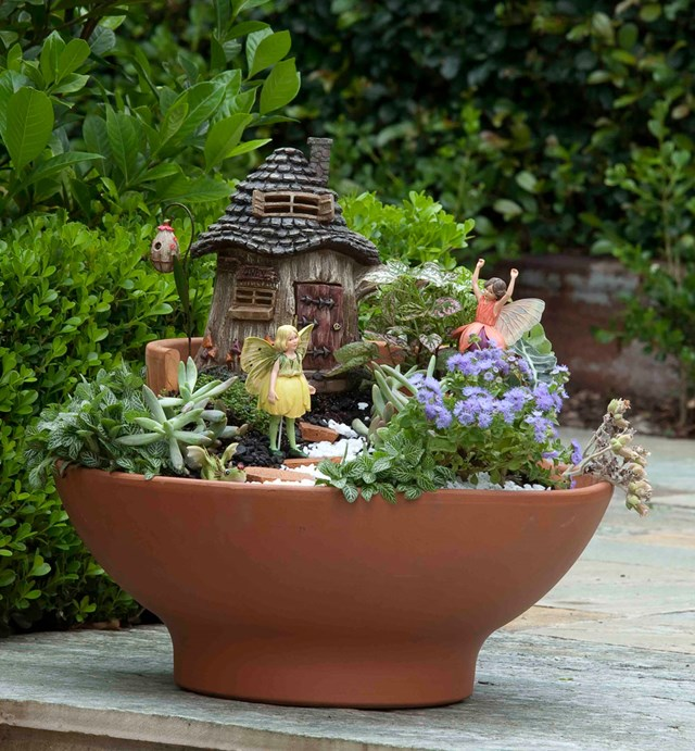 How To Make A Layered Fairy Garden