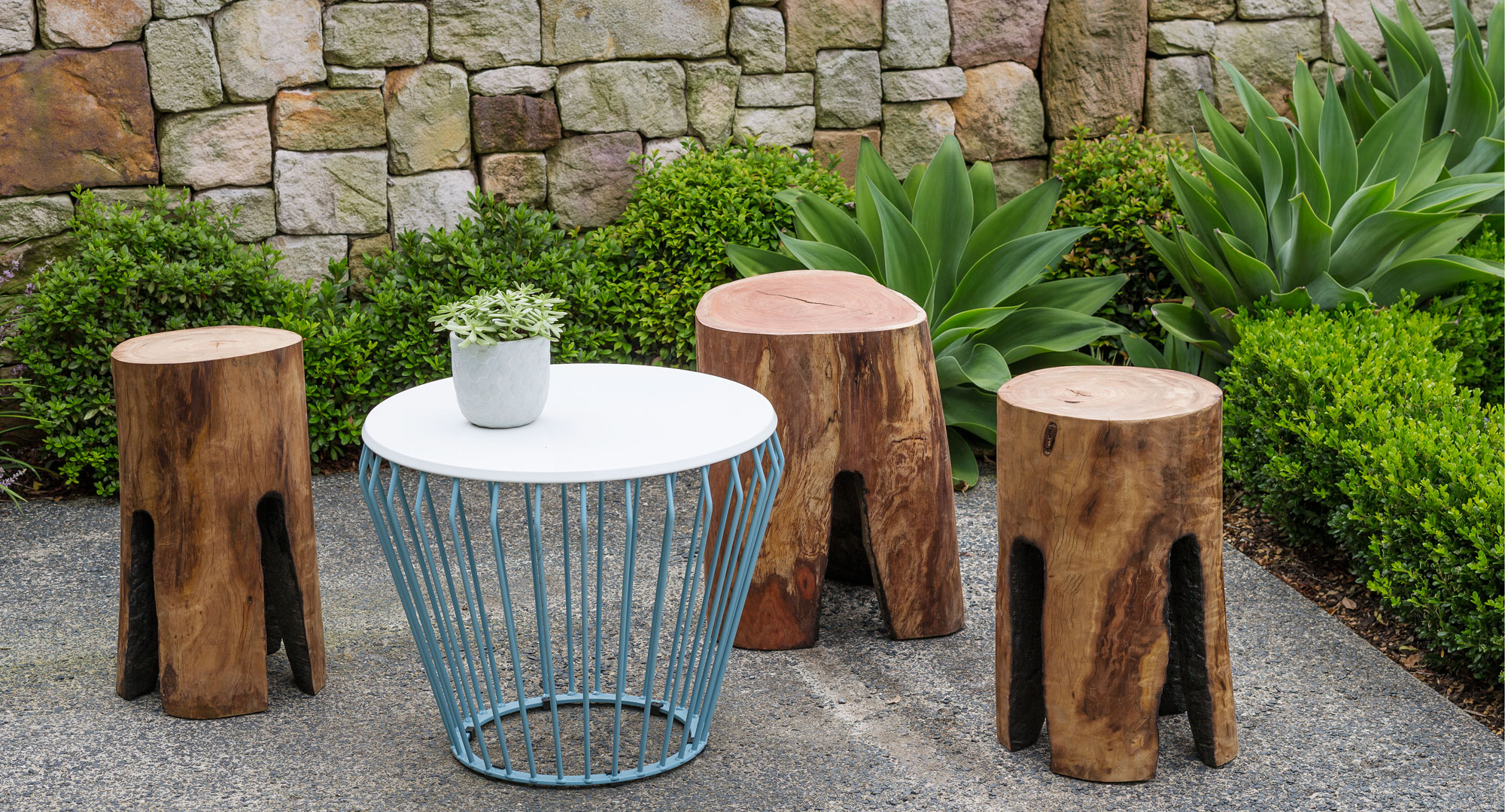 Craft Some Cute Burnt Log Stools For Your Outdoor Setting